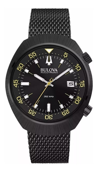 Bulova Precisionist 98b247 Accutron Mergulho 100m Original