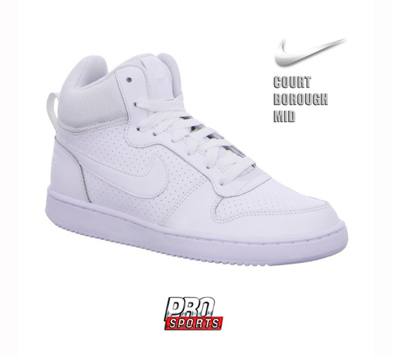 Nike Tenis Court Borough Mid Branco - Original