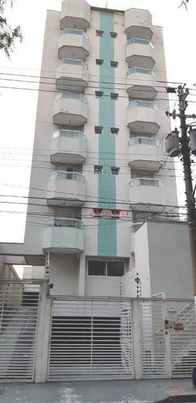 Apartamento Com 2 Dormitórios À Venda, 63 M² Por R$ 480.000 - Vila Homero Thon - Santo André/sp - Ap1696