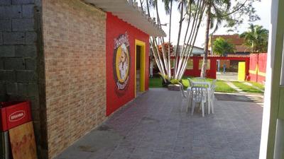 Comercio Com Moradia, 600 Metros Da Praia, Ref. 0788 M H