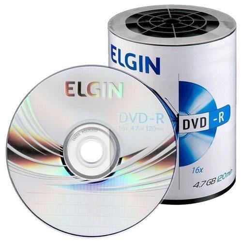 100 Dvd-r Elgin Logo