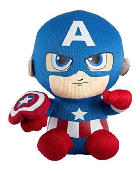 Pelúcia Ty Beanie Babies Original Marvel Capitao America