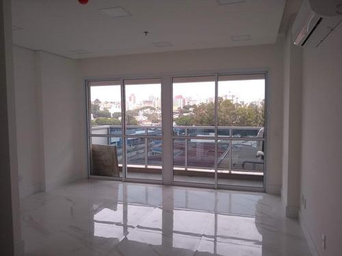 Imagem 1 de 10 de Sala, 36 M² - Venda Ou Aluguel - Baeta Neves - São Bernardo Do Campo/sp - Sa4255