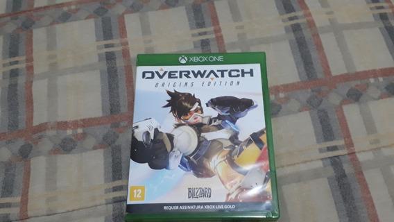 Overwatch Xbox One Midia Fisica Usado