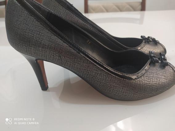 Sapato Pep Toe Corello 38 Vitrine