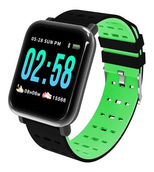 Smartband A6 Reloj Fitness Deportivo Water Proof Ip67