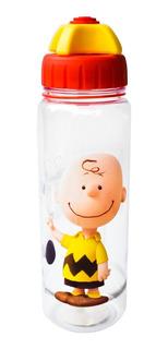 Termo De Agua Snoopy Charlie Brown Botella Cilindro 550ml