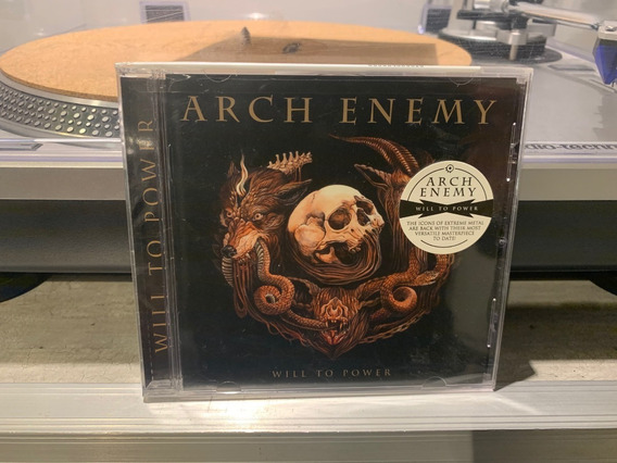 Arch Enemy - Will To Power - Cd Made In Usa