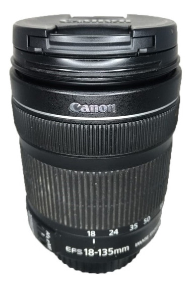 Lente Canon 18-135mm Perfeito Estado Seminova