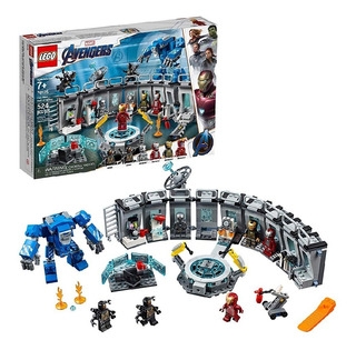 Lego Marvel Avengers Ironman Endgame Salón De Armaduras