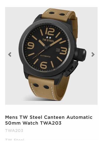 Relógio Tw Steel Canteen Automático