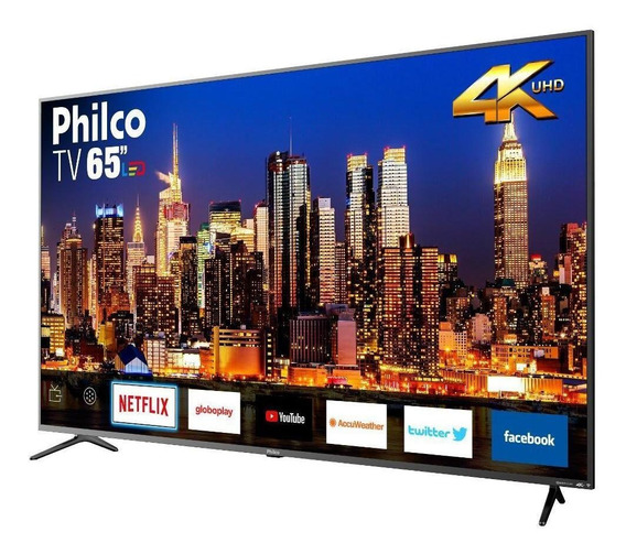 Smart Tv Philco 65 Led Ultra Hd 4k