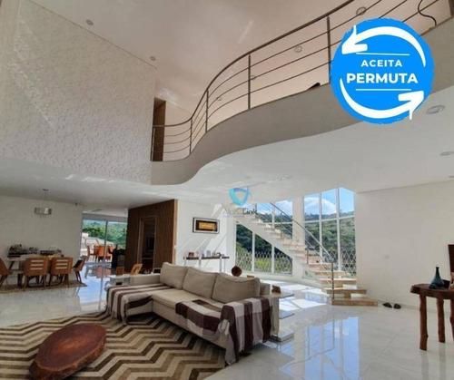 Casa Com 4 Dormitórios À Venda, 420 M² Por R$ 2.500.000,00 - Resindecial Itahyê (alphaville) - Santana De Parnaíba/sp - Ca1573