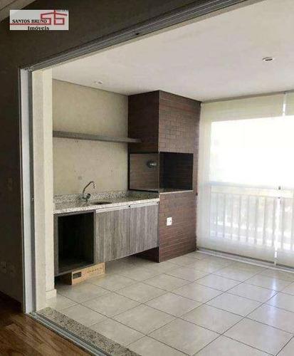 Apartamento Com 4 Dormitórios À Venda, 168 M² Por R$ 1.690.000,00 - Perdizes - São Paulo/sp - Ap3706