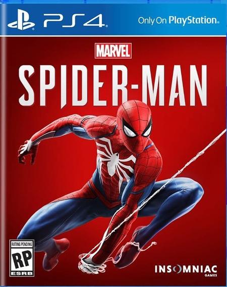 Game Jogo Ps4 Mídia Física Spider Man - Frete Grátis