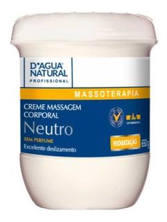 Creme De Massagem Neutro D