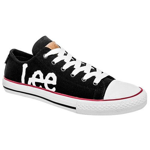 Tenis Lee Sneaker Man Negro 15118 Dtt