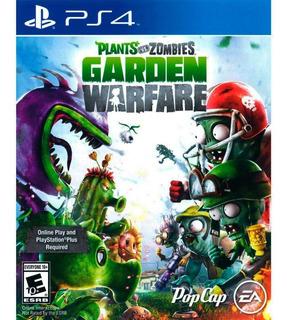 Plants Vs Zombies 1 Ps4 Juego Físico Playstation 4 + Regalo