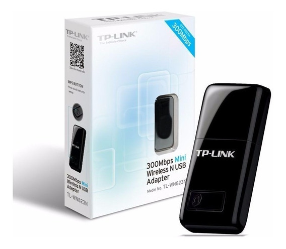 Adaptador Usb Wifi Tp Link Tl Wn823n 300mbps Mini N Pc 823