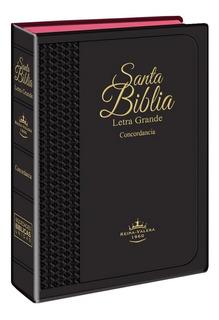 Biblia Letra Grande Negro Flexible Reina Valera 1960