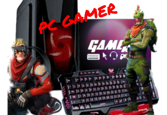 Pc Gamer Barato Com Monitor Teclado E Mouse