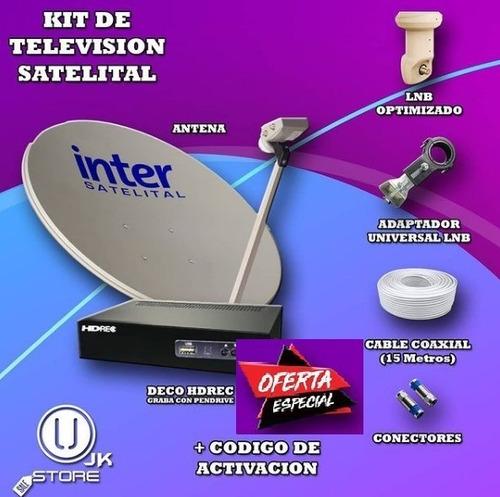 Kit Television Satelital Inter