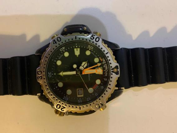 Relógio Citizen Aqualand 5810 Preto Trocas