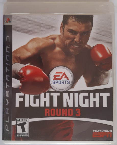 Fight Night Round 3 Ps3 Mpidia Física