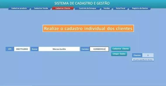 Sistema Para Vendas - Panilha Excel