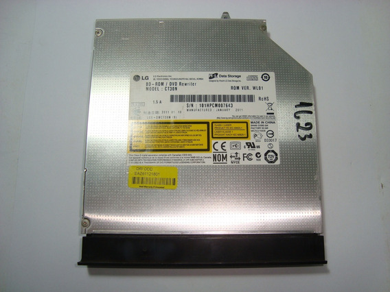 Gravadora Dvd Leitor Blu-ray Ct30n Lg A510