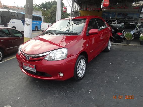 Toyota Etios Xls 1.5 2013 Completo
