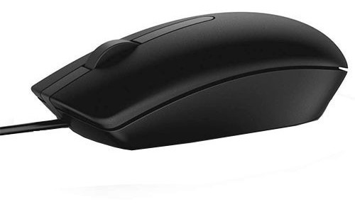 Mouse Dell Alámbrico Modelo Ms116 Color Negro