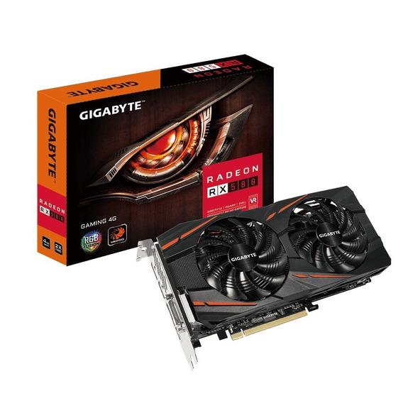Placa Video Radeon Rx 580 4gb Gddr5 Oc Gaming Ideal Fortnite