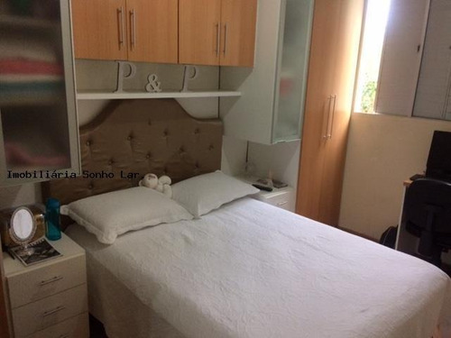 Apartamento Para Venda Em São Paulo, Vila São Francisco, 2 Dormitórios, 1 Banheiro, 1 Vaga - 8109_2-498796