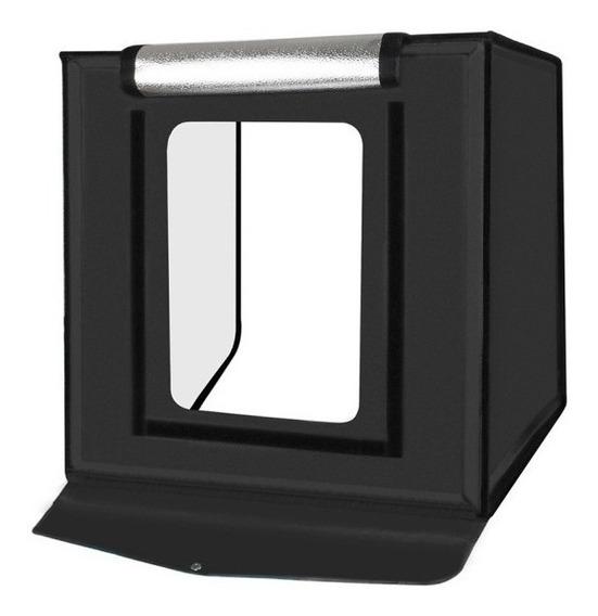 Mini Studio Estúdio Fotográfico Led Box Photo 50x50x50 Cm