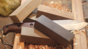 Kit 10 Blocos De Madeiras - Cutelaria Luthieria Frete Grátis