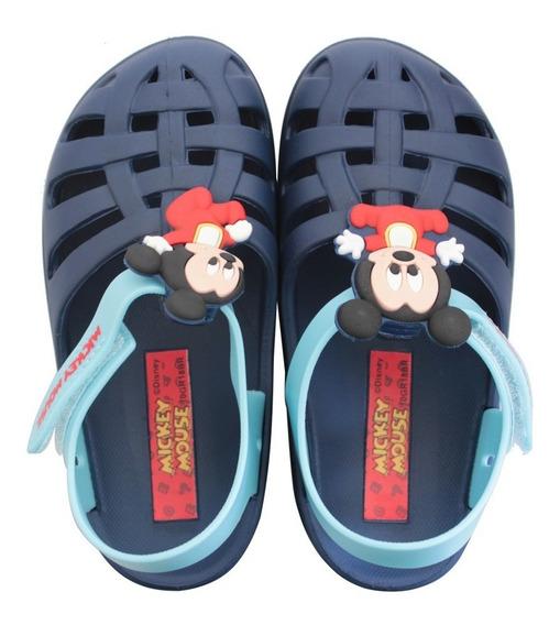 Sandália Infantil Baby Disney Clássicos Mickey/minnie