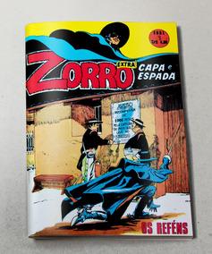 Zorro Extra (capa E Espada) N° 1 - 1975 - Ebal - Facsímile