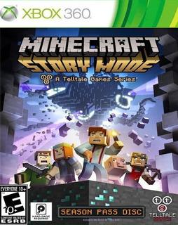 Minecraft: Story Mode Xbox 360 - Juego Fisico - Prophone