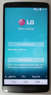 Lg G3 D855 Desbloqueado 16gb Semi Novo Ótimo Top Aproveite