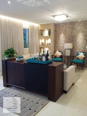 Lindo Apartamento Na Vila Augusta, Condomínio Supera, 128m², 3 Vagas. - Ap0463