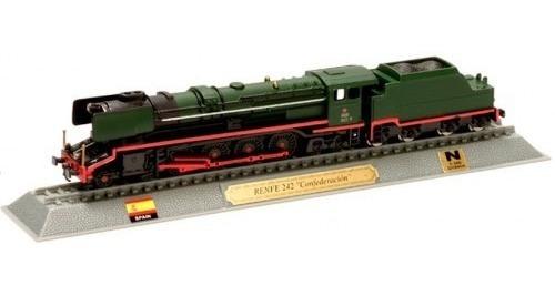 Locomotivas Do Mundo Edição 52 Renfe 242 Confederacion