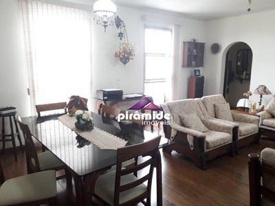 Apartamento Com 3 Dormitórios À Venda, 118 M² Por R$ 490.000 - Vila Adyana - São José Dos Campos/sp - Ap10705