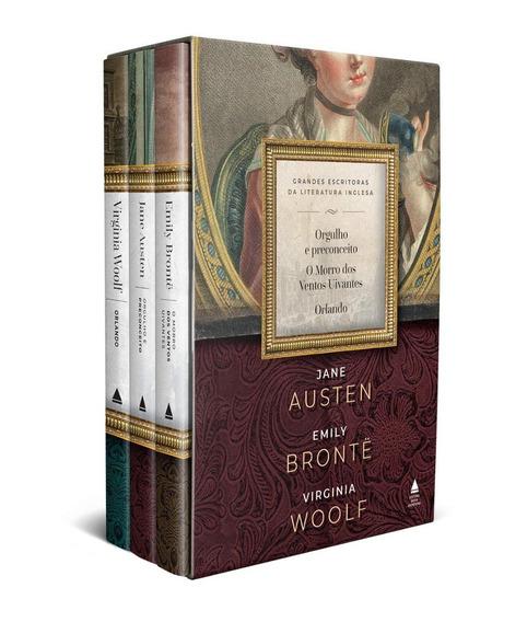 Livro Box Grandes Escritoras Da Literatura Inglesa