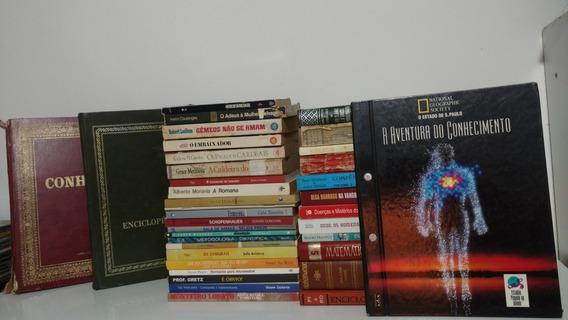 Lote 36 Livros Promocional Sebo Edições Raras Antigos
