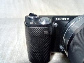 Sony Nex 5n Poucos Clicks Mirrorless + Flash + Brinde