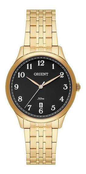 Relógio Orient Feminino Clássico Dourado Fgss1135 P2kx