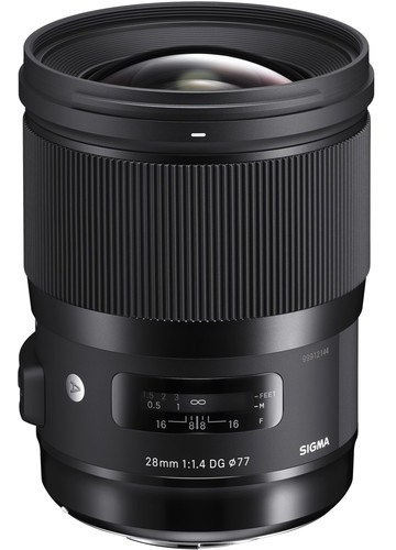 Lente Sigma 28mm F/1.4 Dg Hsm Art Canon Nikon Sony