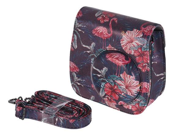 Andoer Camera Case Bag Com Al?a Para Fujifilm Instax Mini