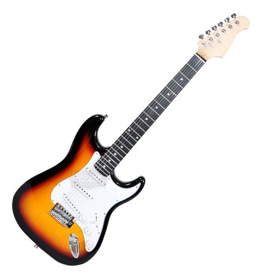 Guitarra Eléctrica Stratocaster Original Funda Cd Garantía
